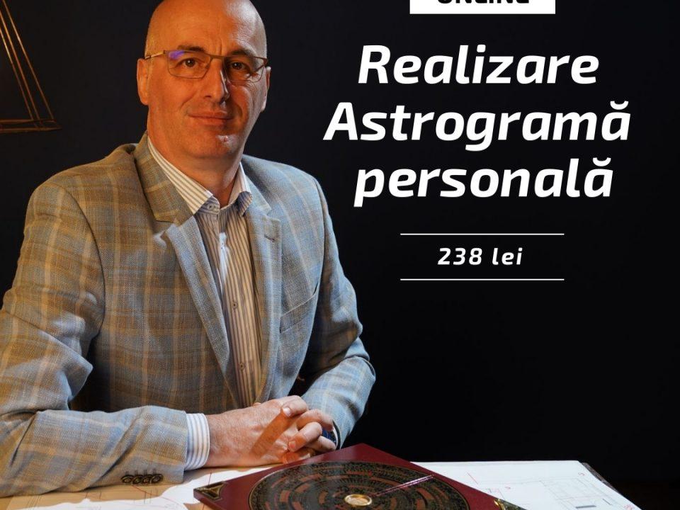 Realizare astrograma personala
